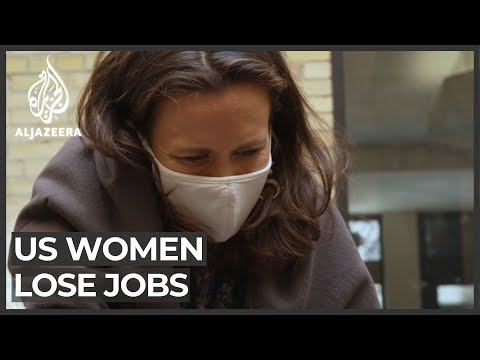 Alarm in US over number of women driven out of work amid pandemic