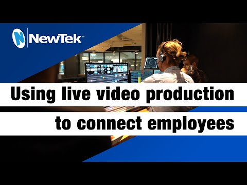 """Shopify.com Uses Live Video Production to """"Wow"""" Employees Around the World"""