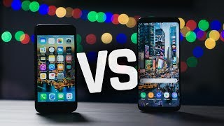 Samsung Galaxy S8 vs Apple iPhone 7: Battle for the Best!