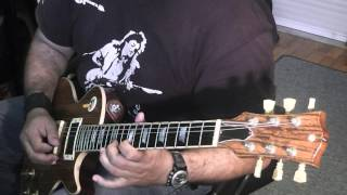 Blues Licks C# Minor By Panos A Arvanitis (backing Track Included)