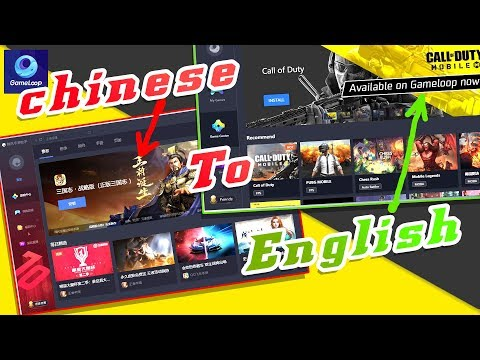 Gameloop emulator Chinese to English Very Easy #greenpolygames