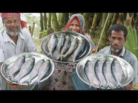 Ilish Macher Vorta Recipe Boneless Hilsha Fish Paste TRADITIONAL VILLAGE STYLE COOKING ILISH BHORTA