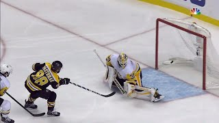 Pastrnak's breakaway beauty after sweet stretch pass from Nash