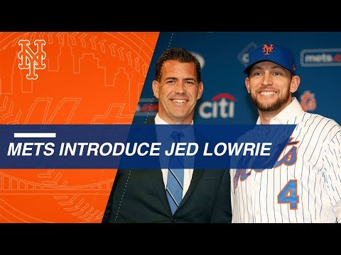 Van Wagenen, Mets introduce new infielder Jed Lowrie