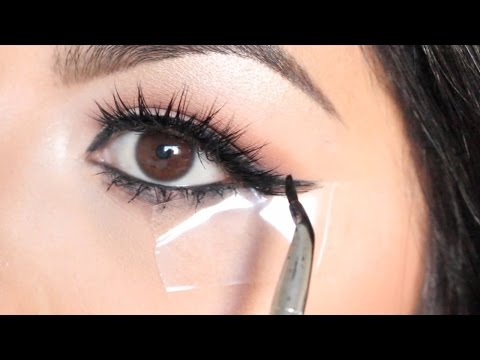 EASY Winged Eyeliner Using TAPE For BEGINNERS! | Beauty Tip Tuesday Ep. 2