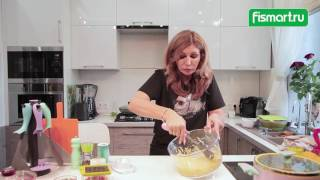 Оладьи из Кабачков - рецепт, Ирина Агибалова готовит вместе с Fismart.ru