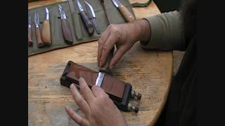 Knife Sharpening With Jon Mac Part 1