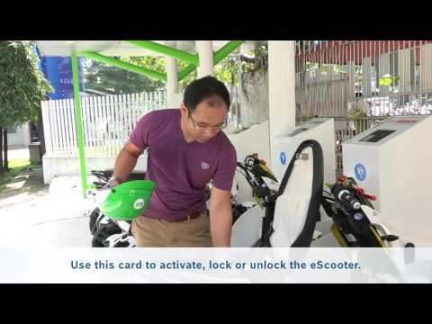Giới thiệu hệ thống xe máy điện cộng đồng