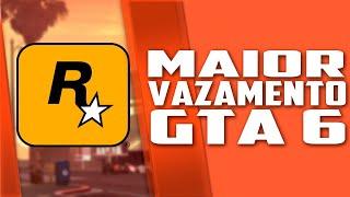 O MAIOR VAZAMENTO de GTA 6 até agora, vamos TORCER PRA SER REAL!
