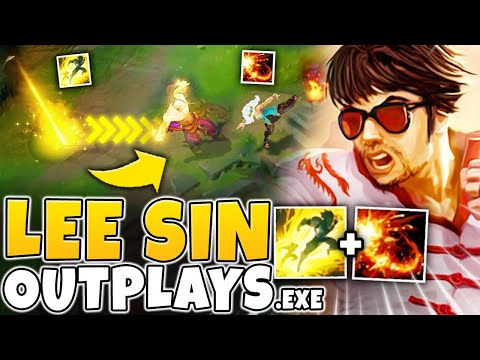 LEE SIN OUTPLAYS.EXE | GETTING FANCY ON MASTER PLAYERS - League of Legends