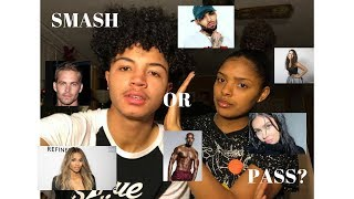 SIMONE SAID SHE WILL LEAVE ME FOR CHRIS BROWN! | Smash Or Pass Celebrity Edition