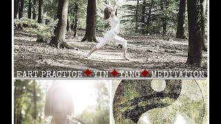Yin yoga, Hatha yoga and Meditation (in English, 1,5h)