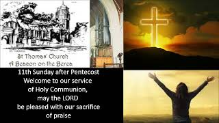 #Eucharist 16 August 2020