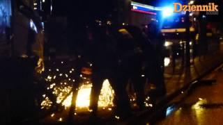 preview picture of video 'Wypadek na Zgierskiej w Łodzi'