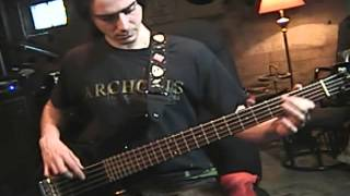 Exodus -  War Is My Shepherd (Bass Cover)