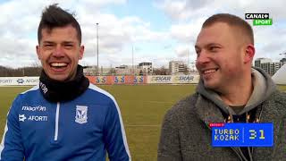 Film do artykułu: Lech Poznań. Darko Jevtić w...