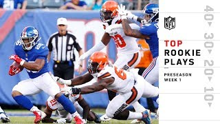 Top Rookie Plays of Preseason Wk 1   NFL 2018 Highlights
