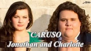 Jonathan and Charlotte - Caruso - Lyric.
