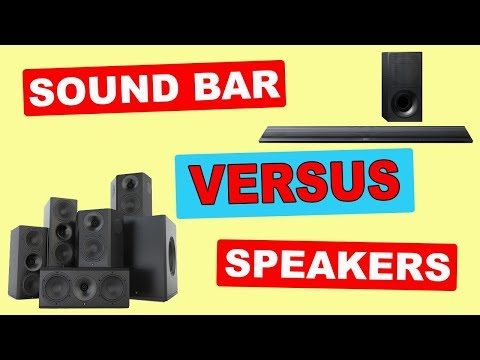 SOUND BAR vs SPEAKERS | Sound Quality or Convenience?