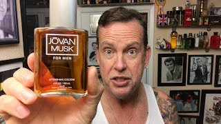 Superbowl Shave 2018-Jovan Musk, SueZBana Soap, Merkur 34G. A look back at some classic scents.