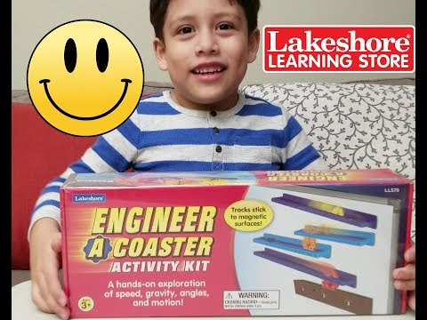 Engineer a Coaster Lakeshore Toy