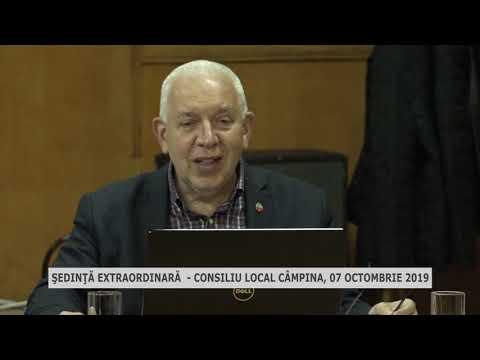 Şedinţa extraordinară CL Câmpina oct 2019