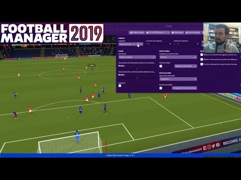 Gameplay de Football Manager 2019