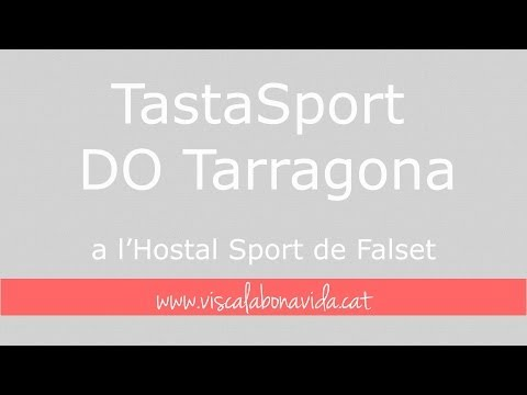 Tastasport DO Tarragona a l'Hostal Sport de Falset