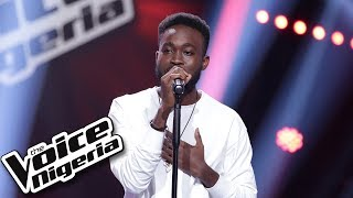 "Chris Rio Sings ""Love Don't Lie""  Blind Auditions  The Voice Nigeria Season 2"