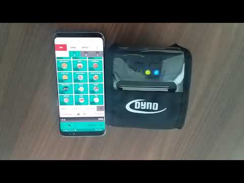 CoiNel DYNO BTUB Bluetooth Mobile Printer