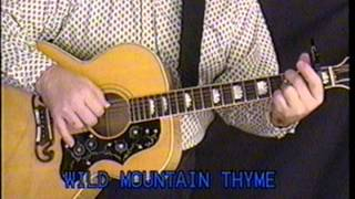 Wild Mountain Thyme - James Taylor - Play Along