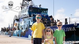 Sea Shepherd could not be more proud of the QuadSquad for helping