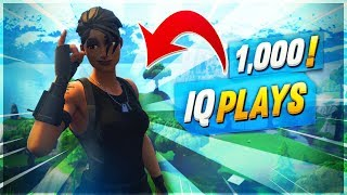 INSANE 1000 IQ PLAYS IN SOLO SQUADS | Fortnite Mobile High Kill Gameplay