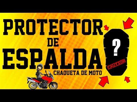 Protector de espalda en chaqueta de moto, te protege el tuyo❓