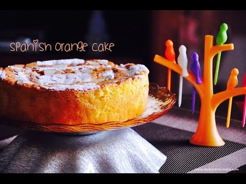 Video Spanish Orange Cake with Almonds | Gluten Free Fatless Cake |Recipes 'R' Simple