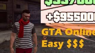 GTA5 ONLINE PS4/XBOX MONEY GLITCH