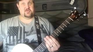 One By Creed Guitar Lesson