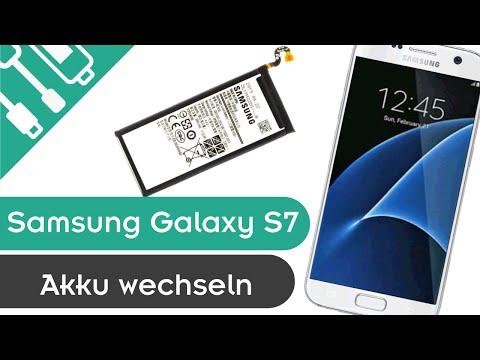 Samsung Galaxy S7 Akku wechseln Anleitung - günstige DIY Reparatur HD