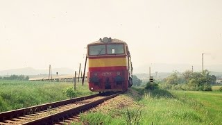 preview picture of video 'Vyhlasovanie vlakov v žst.Zlaté Moravce v GVD 1992/93'