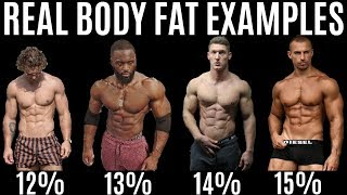 BODY FAT % LIES   Real Examples of Body Fat Percentage