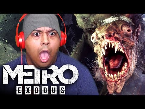 THIS GIANT SHRIMP MONSTER SCARED THE LIFE OUT OF ME! [METRO EXODUS]