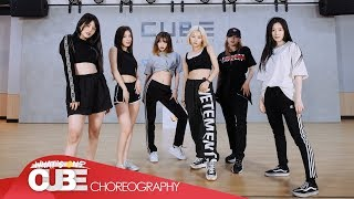 (여자)아이들((G)I DLE)   'Uh Oh' (Choreography Practice Video)