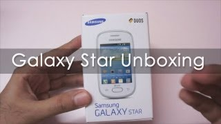 Samsung Galaxy Star Unboxing Cheapest Android Phone from Samsung