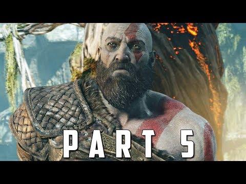 GOD OF WAR Walkthrough Gameplay Part 5 - BRENNA DAUDI BOSS (God of War 4)