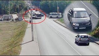 ДТП в Серпухове. Дождался и рванул наперерез автобусу... 13 июля 2018г.
