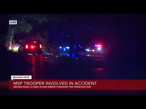 MSP trooper involved in accident