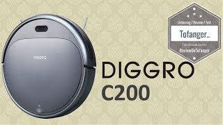 Diggro C200 :  Aspirateur Robot (Aprs les montres Diggro, voila l'aspirateur robot)