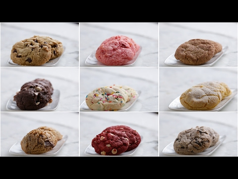 Video Cake Mix Cookies 9 Ways