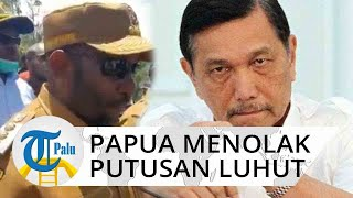 Luhut Binsar Pandjaitan Tolak Lockdown di Papua, Bupati Mamteng Tegas Tetap Lakukan 'Local Lockdown'