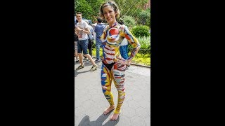2017 BodyPainting Day New York City